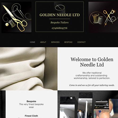 Golden Needle Website